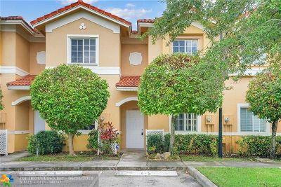 Tamarac Condo/Townhouse For Sale: 5920 Riverside Ave