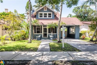 Hollywood Single Family Home For Sale: 1624 Monroe St
