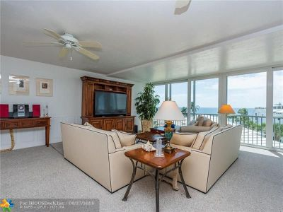 Lauderdale By The Sea Condo/Townhouse For Sale: 1530 S Ocean Blvd #401