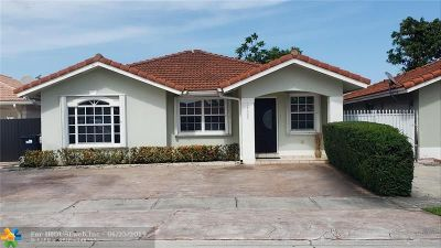 Miami Single Family Home For Sale: 14305 SW 145 Pl