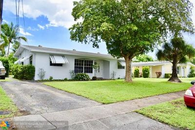 Margate Single Family Home For Sale: 610 SW 55th Ave