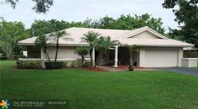 Coral Springs Single Family Home For Sale: 120 NW 94th Way