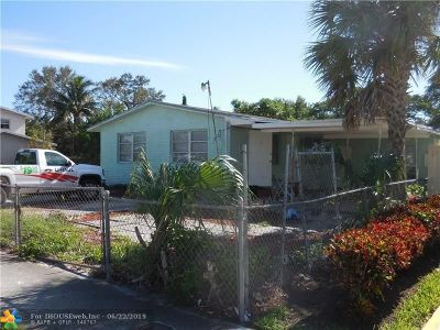 Fort Lauderdale Single Family Home For Sale: 2890 NW 14th Ct