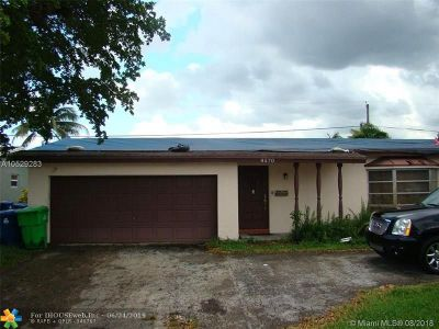 Sunrise Single Family Home For Sale: 8570 NW 24th Ct