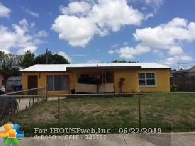 North Lauderdale Single Family Home For Sale: 1620 SW 63rd Ter