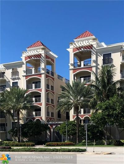 Fort Lauderdale Condo/Townhouse For Sale: 2401 N Ocean Blvd #302