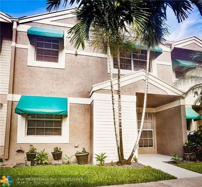 Cooper City Condo/Townhouse Backup Contract-Call LA: 5231 SW 122nd Ter #5231