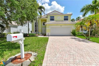 Coral Springs Rental For Rent: 8410 NW 46th Dr