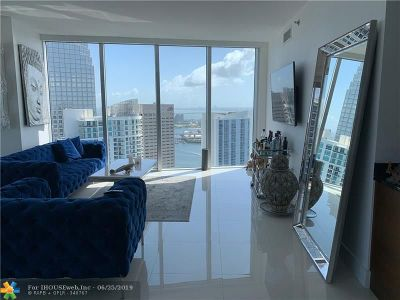 Miami Condo/Townhouse For Sale: 465 Brickell Ave #4602
