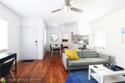 Fort Lauderdale Rental For Rent: 3015 Seville St #1