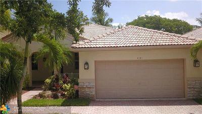Weston Single Family Home For Sale: 4191 Laurel Ridge Cir