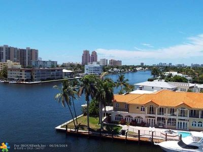 Fort Lauderdale Condo/Townhouse For Sale: 2900 NE 30th St #G7
