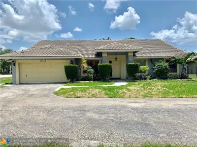 Coral Springs FL Single Family Home For Sale: $405,000