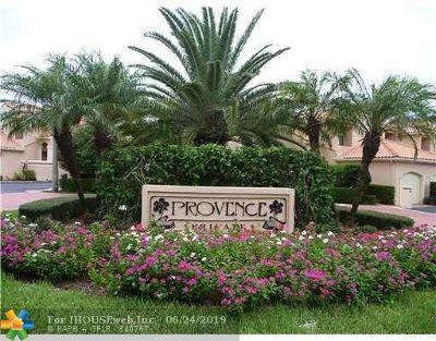Boca Raton Condo/Townhouse For Sale: 6060 Verde Trl #506