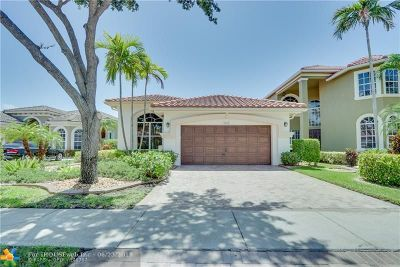 Coral Springs Single Family Home For Sale: 5854 NW 126th Ter