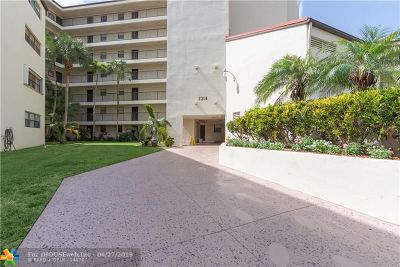 Pompano Beach FL Condo/Townhouse For Sale: $94,900