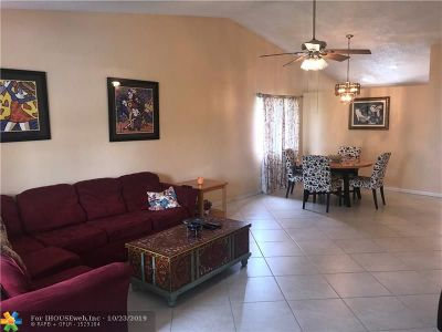 Sunrise Single Family Home For Sale: 5311 NW 93rd Ave