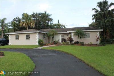 Plantation Single Family Home For Sale: 560 Gettysburg Ter
