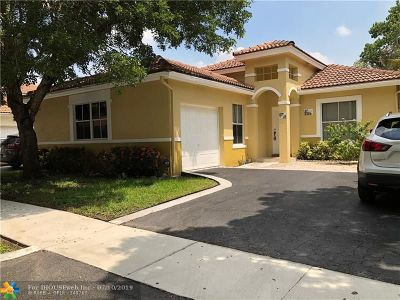 Coconut Creek Single Family Home For Sale: 4731 NW 5th Ct
