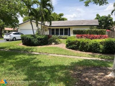 Coral Springs Single Family Home For Sale: 11935 NW 24th St