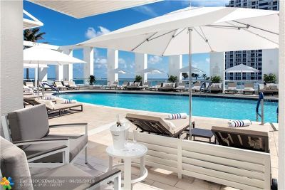 Condo/Townhouse For Sale: 551 N Fort Lauderdale Beach Blvd #H806