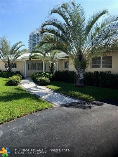 Fort Lauderdale Rental For Rent: 2900 NE 35th St