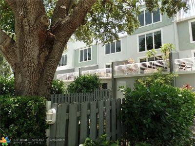 Wilton Manors Rental For Rent: 804 NE 28th St