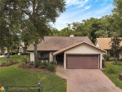 Coral Springs Single Family Home Backup Contract-Call LA: 1521 Riverwood Ln