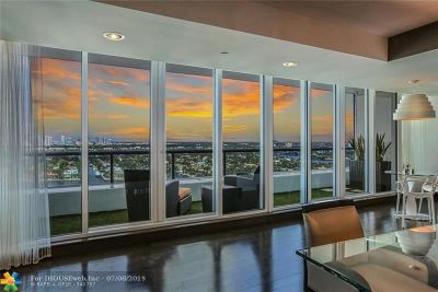 Condo/Townhouse For Sale: 1 N Fort Lauderdale Beach Blvd #1905