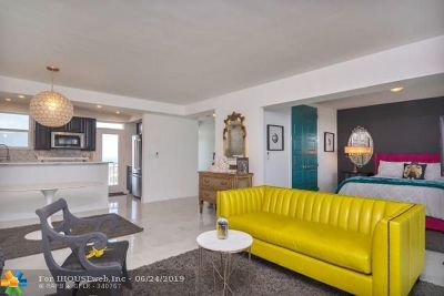 Fort Lauderdale Condo/Townhouse For Sale: 1920 S Ocean Dr #1703