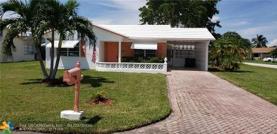 Tamarac Single Family Home For Sale: 7011 NW 95th Ave