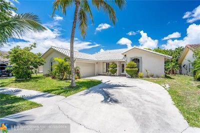 Boca Raton Single Family Home For Sale: 5207 Deerhurst Crescent Cir