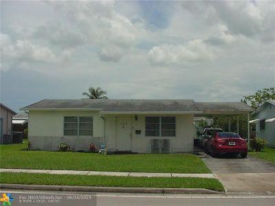 Margate Single Family Home For Sale: 6720 Margate Blvd