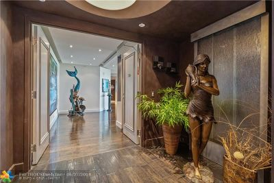 Fort Lauderdale FL Condo/Townhouse For Sale: $1,125,000
