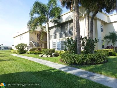 Broward County , Palm Beach County Condo/Townhouse For Sale: 78 Piedmont B #78