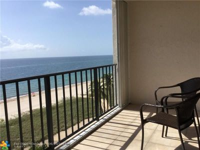 Lauderdale By The Sea Condo/Townhouse Backup Contract-Call LA: 5100 N Ocean Blvd #810