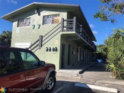 Pompano Beach Multi Family Home For Sale: 715 NW 5th Ave