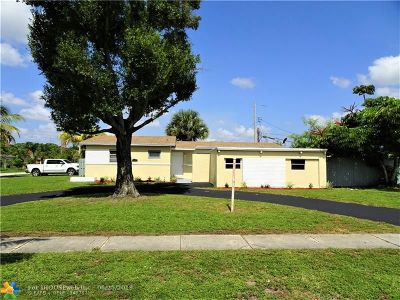 Lauderdale Lakes Single Family Home For Sale: 3201 NW 43rd Ave