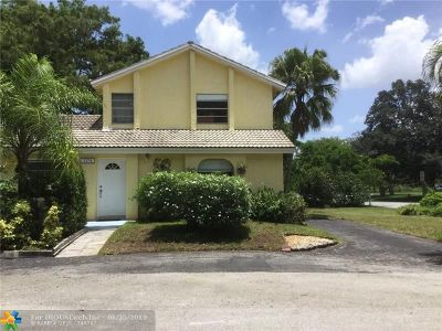 Coral Springs Single Family Home For Sale: 1378 NW 91 Ave