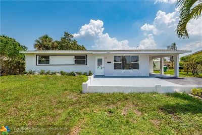 Lauderhill Single Family Home For Sale: 3520 NW 7th St