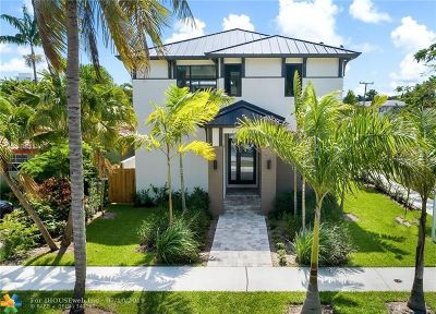 Fort Lauderdale FL Single Family Home For Sale: $1,495,000
