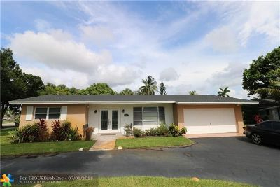 Plantation Single Family Home For Sale: 892 NW 68th Ave