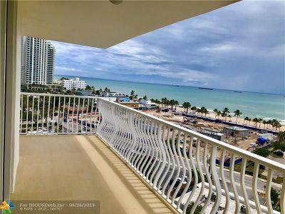 Fort Lauderdale Condo/Townhouse For Sale: 1 Las Olas Circle #1117