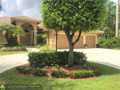 Coral Springs Single Family Home For Sale: 10090 NW 56th St