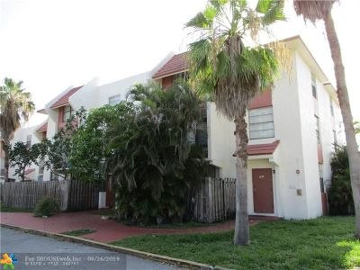Lauderhill Condo/Townhouse For Sale: 1744 NW 55th Ave #103