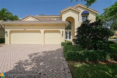 Coconut Creek Single Family Home For Sale: 7457 NW 51st Way