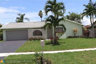 Sunrise Single Family Home For Sale: 4274 NW 95th Ter