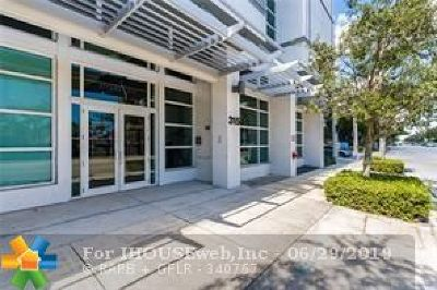Fort Lauderdale Condo/Townhouse For Sale: 315 NE 3rd Ave #1801