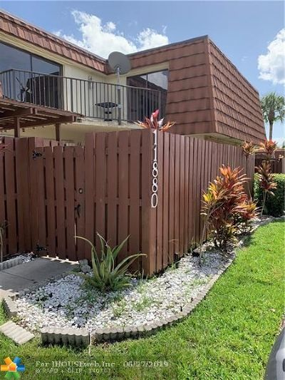 Davie Condo/Townhouse For Sale: 11880 SW 13th Ct