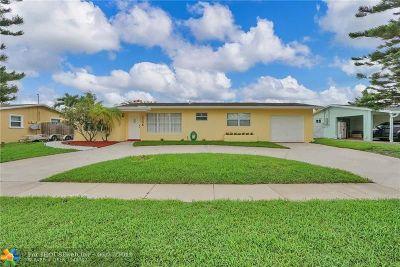 Margate Single Family Home For Sale: 2156 NW 62 Av